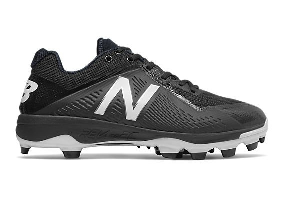 Low-Cut 4040v4 TPU Molded Cleat, Black with White