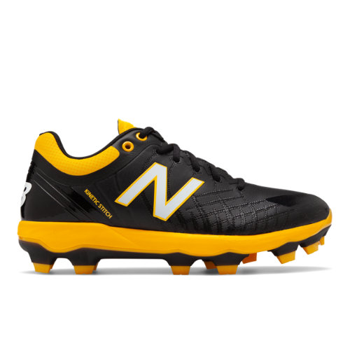 4040v5 TPU Men's Cleats and Turf Shoes - Black/Yellow (PL4040Y5)