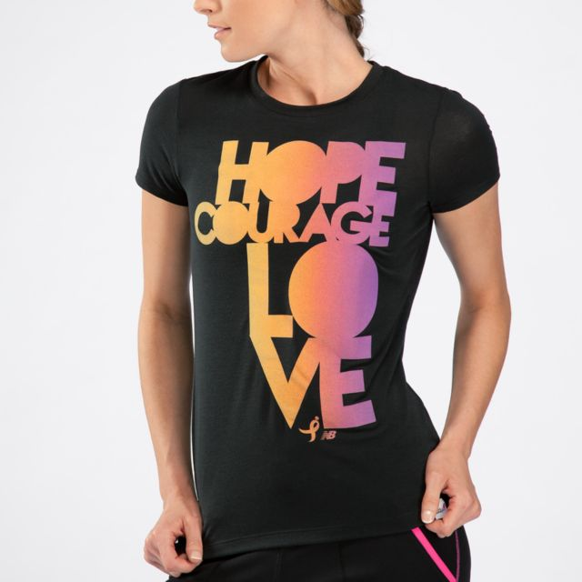 Womens Komen Hope Courage Love T