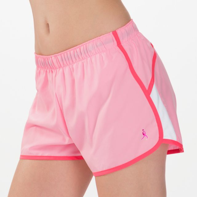 Womens Pink Ribbon Momentum Short