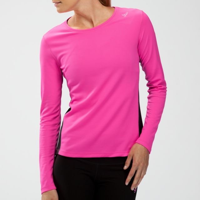 Womens Komen Go 2 Long Sleeve