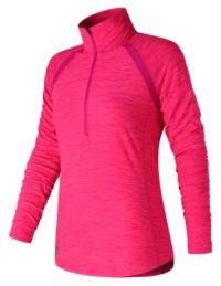 Women's Pink Ribbon Anticipate Half Zip