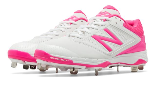 Women's Low-Cut 4040v1 Pink Ribbon Metal Cleat