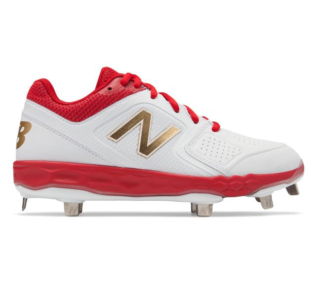Low-Cut Fresh Foam Velo1 Metal Softball Cleat