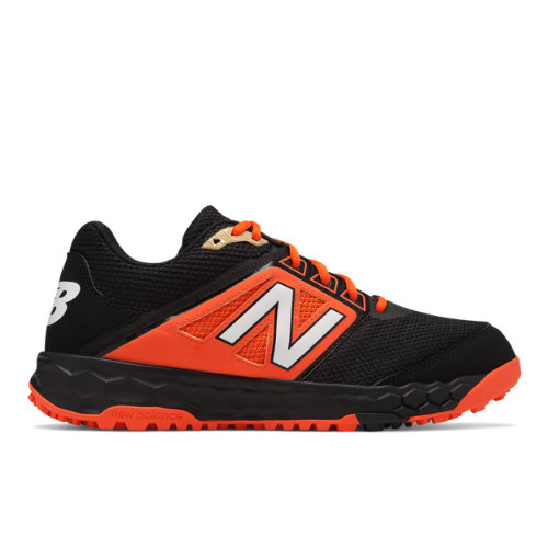 Fresh Foam 3000v4 Turf Men's Cleats and Turf Shoes - Black/Orange (T3000BO4)