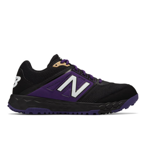 Fresh Foam 3000v4 Turf Men's Cleats and Turf Shoes - Black/Purple (T3000BP4)
