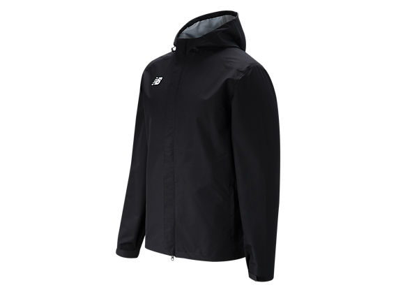 NB Rain Jacket, Team Black