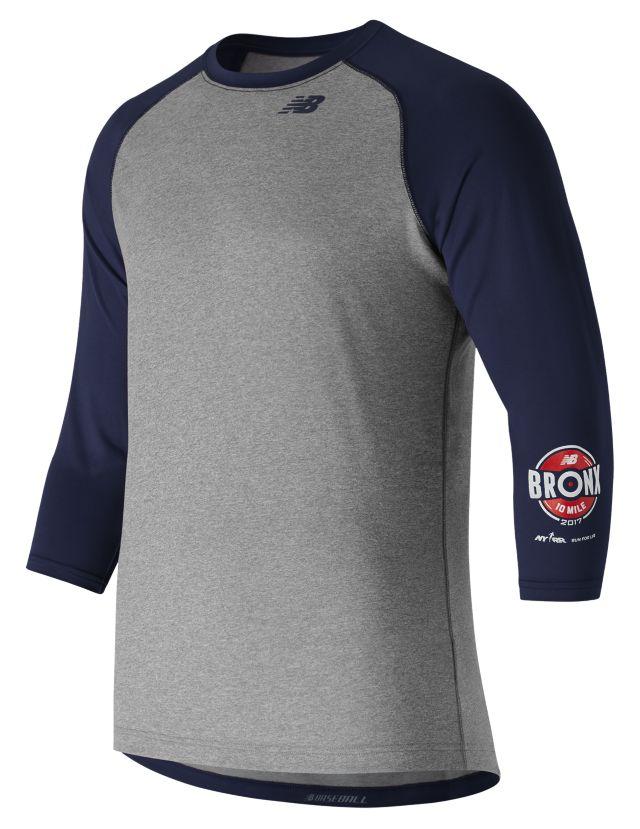 Men's Bronx 10 Mile 3 Qtr Baseball Raglan