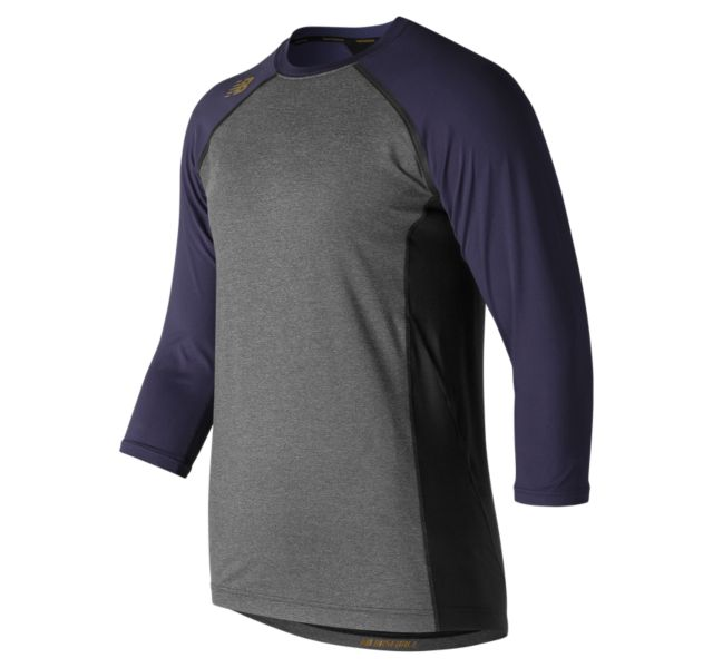New Balance Men's 4040 Compression Top (Blue)