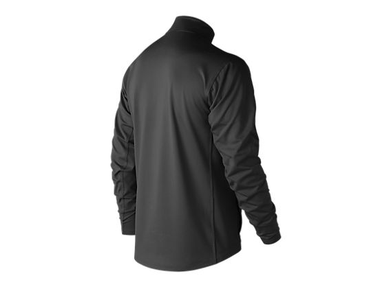 Lightweight Solid Half Zip, Team Black image number 1