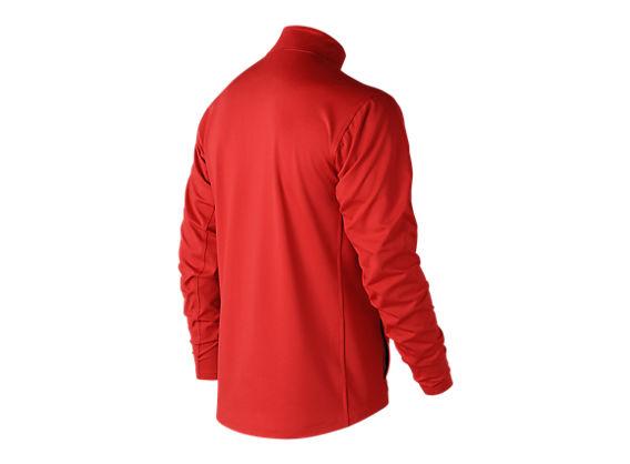 Lightweight Solid Half Zip, Team Red image number 1