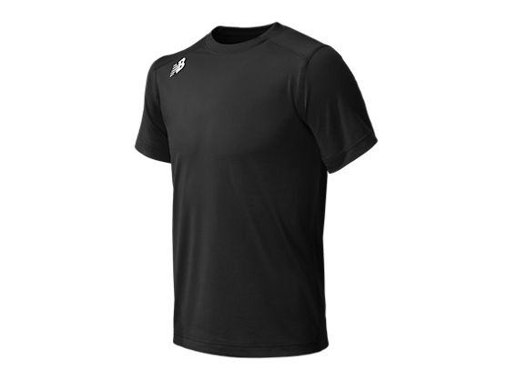 Short Sleeve Tech Tee, Team Black