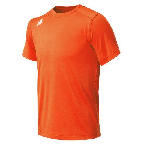 New Balance 500 Kids' Jr NB SS Tech Tee - Orange (TMYT500TMO)