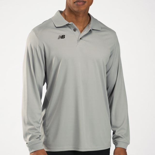 Solid L/S Polo