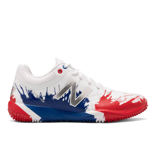 4040v5 Turf Playoff Pack Men's Cleats and Turf Shoes - Red/Blue/Silver (TS4040A5)