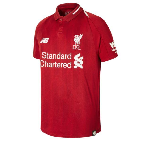 Unisex LFC Home Junior Short Sleeve Jersey