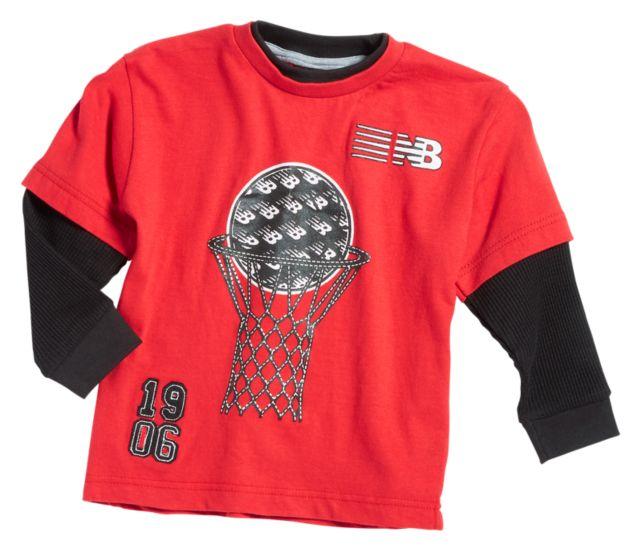 Boy's Hangdown Crew Shirt