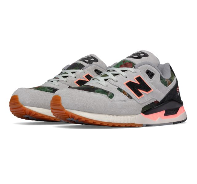 new balance women's 530 floral ink
