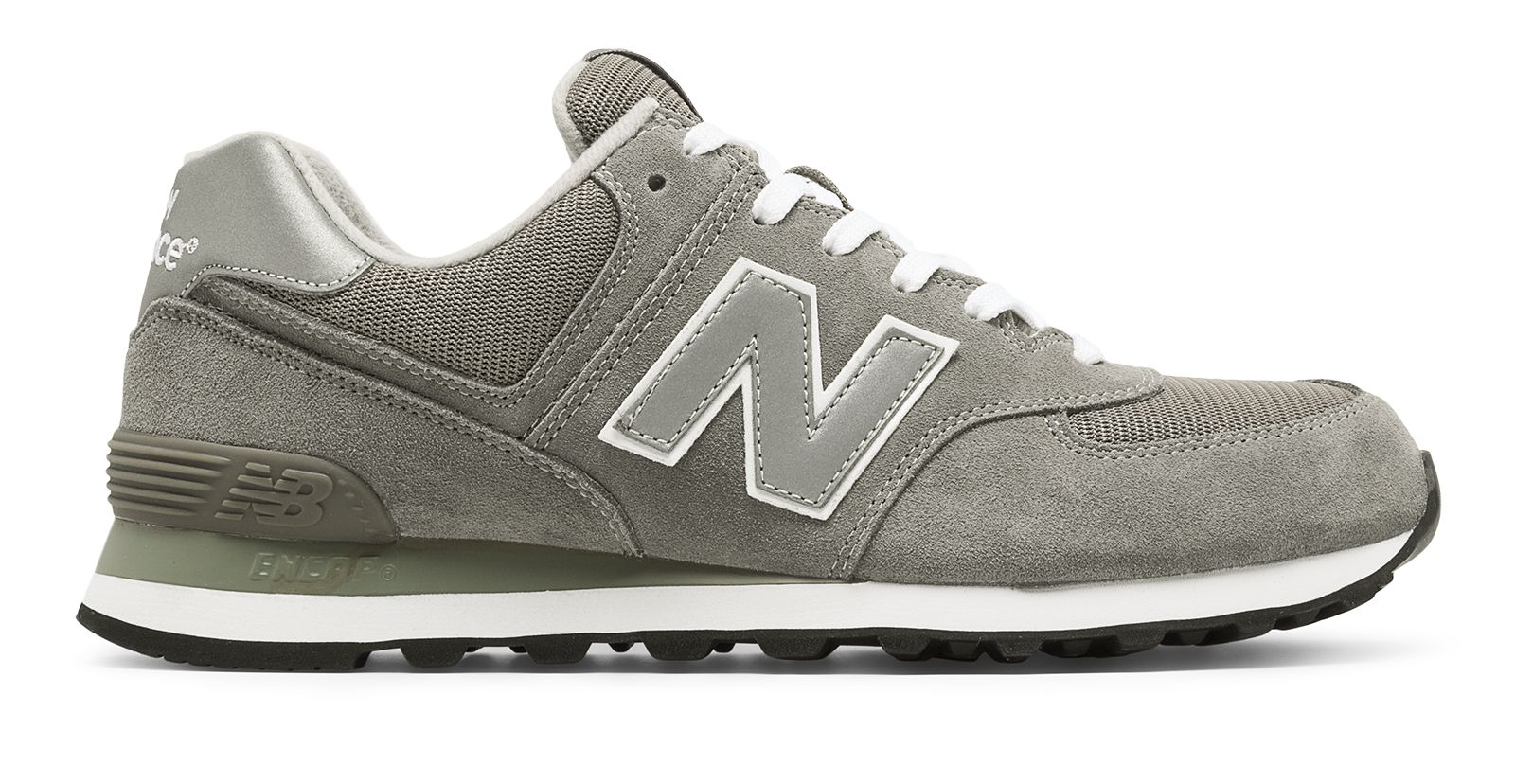 huge selection of 1a086 adb55 Details about New Balance Female Womens 574 Core Limited Edition  Retro-Style Running Shoe Grey