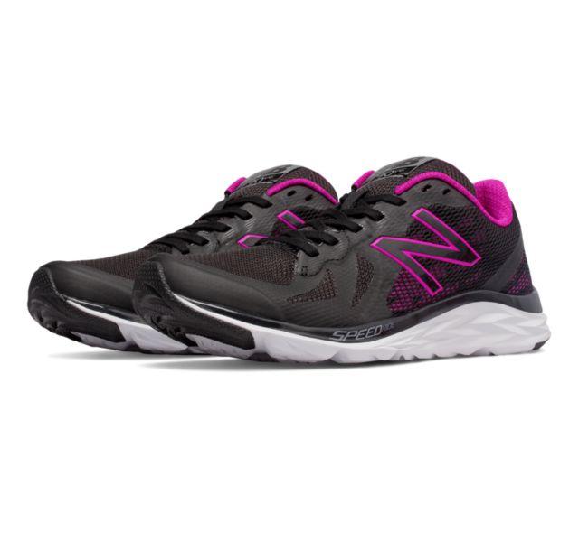 New Balance 790v6 Women's Running Shoes (Black/Poison Berry)