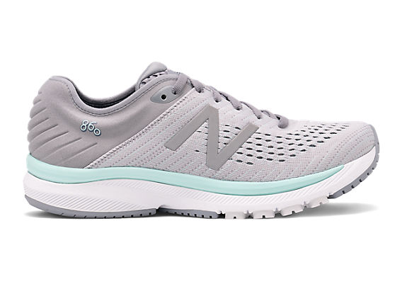 Women's 860v10, Steel with Light Aluminum & Reef