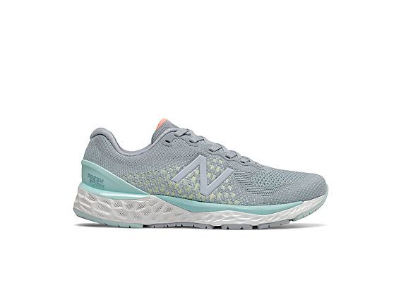 Women's Fresh Foam 880v10, Slate with Light Blue