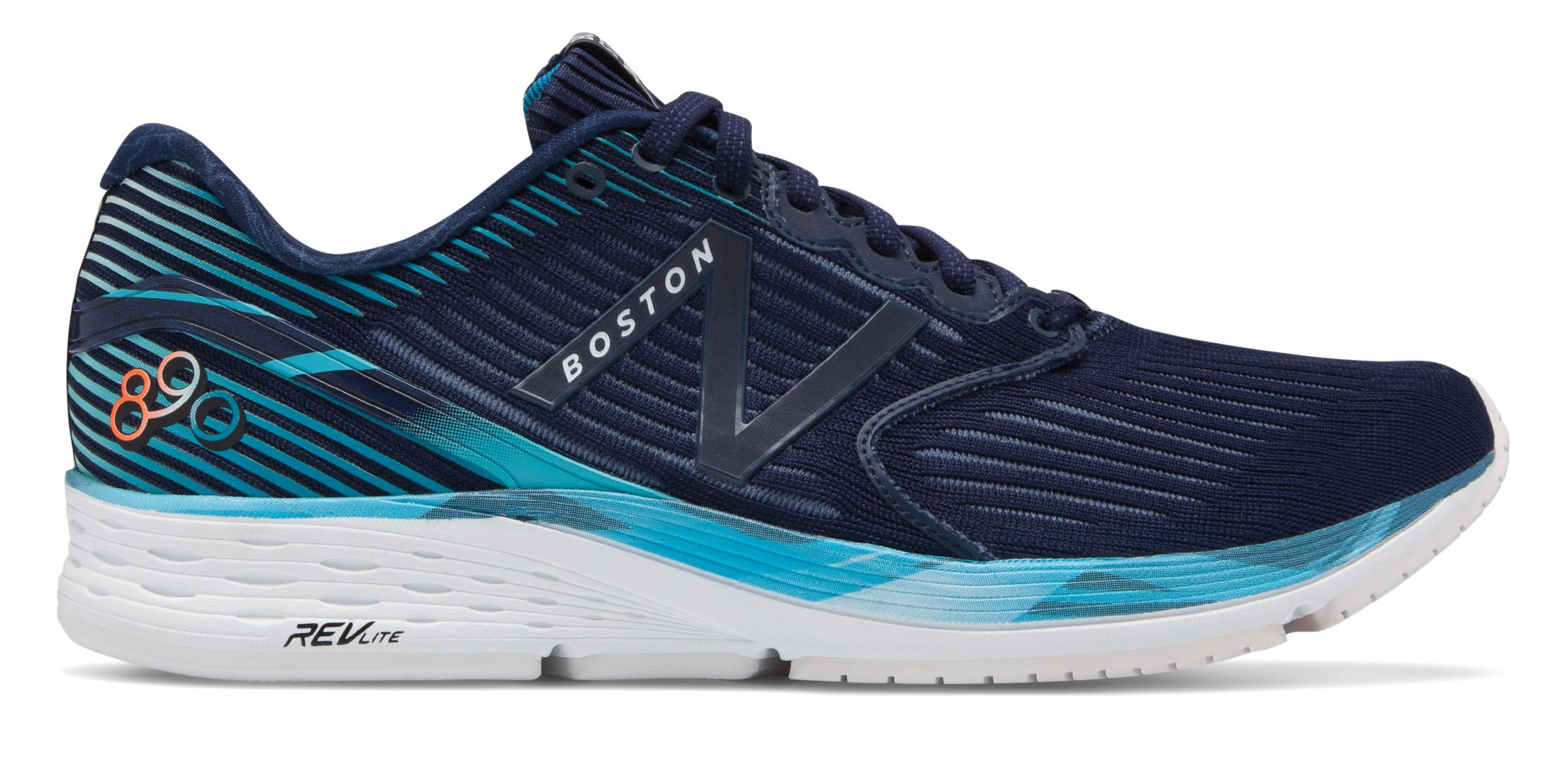 Details about New Balance Women's 890v6 Boston Shoes Navy with Navy