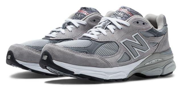 New Balance 新百伦 女款990V3 第三代总统慢跑鞋