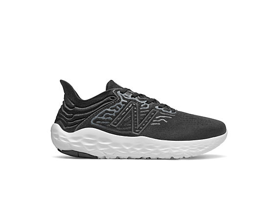 Women's Fresh Foam Beacon v3, Black with White