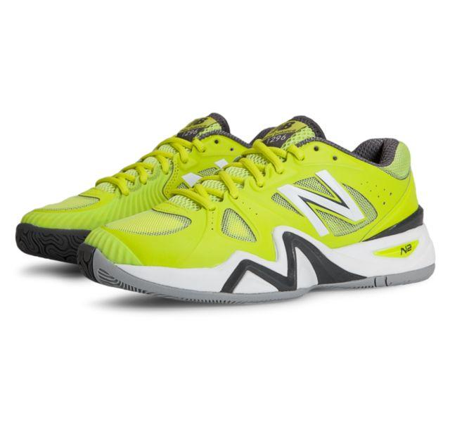 New Balance Womens Court 1296 Lime Women's Tennis Shoes