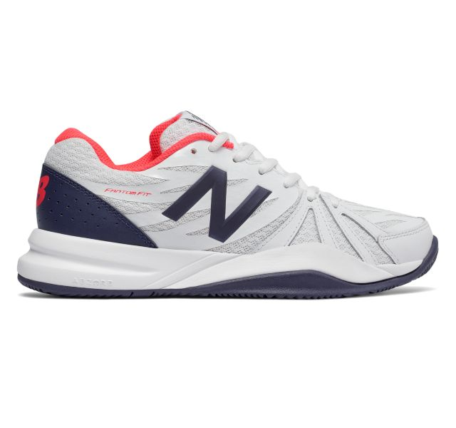 NEW BALANCE Women`s 786v2 2A Width Tennis Shoes White and