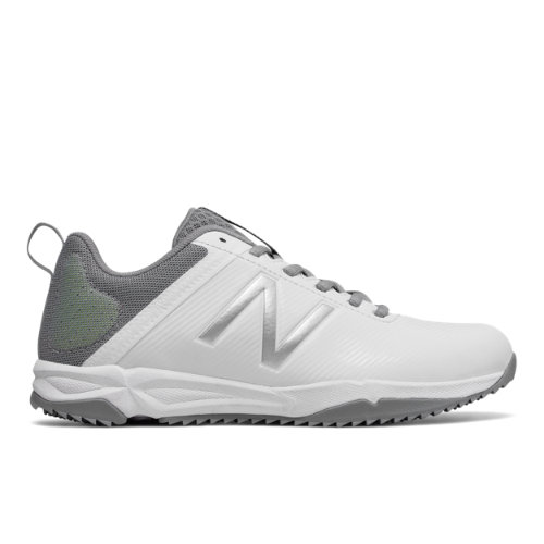 NB Draw Turf Women's Lacrosse Shoes - White/Grey (WDRAWTWT)