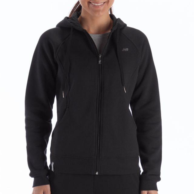 Womens Essentials Full Zip Hoodie