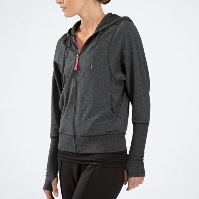Womens Fashion Full Zip Hoodie