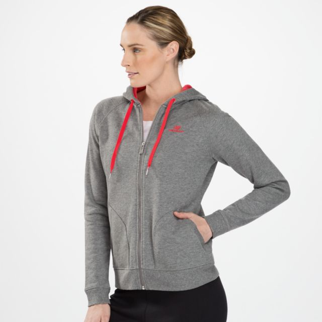 Womens Essential Full Zip Hoodie