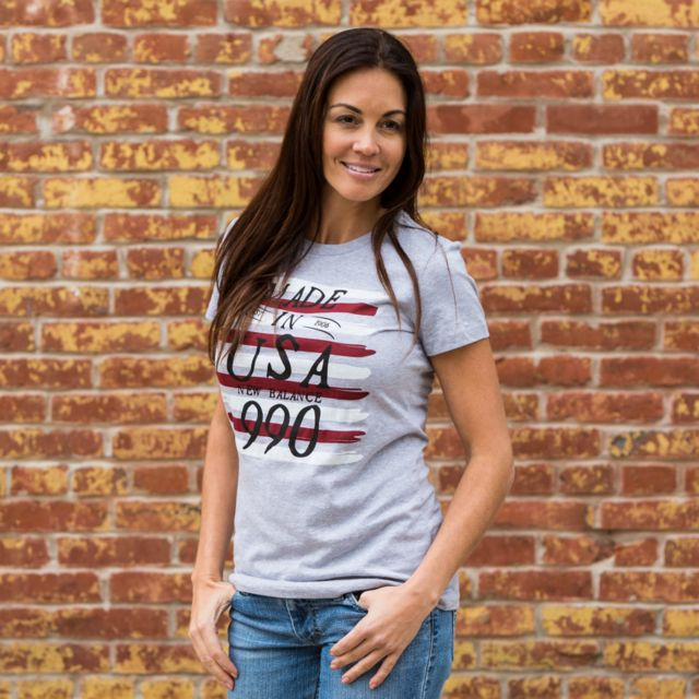 Womens 990 Made in the USA Graphic Tee