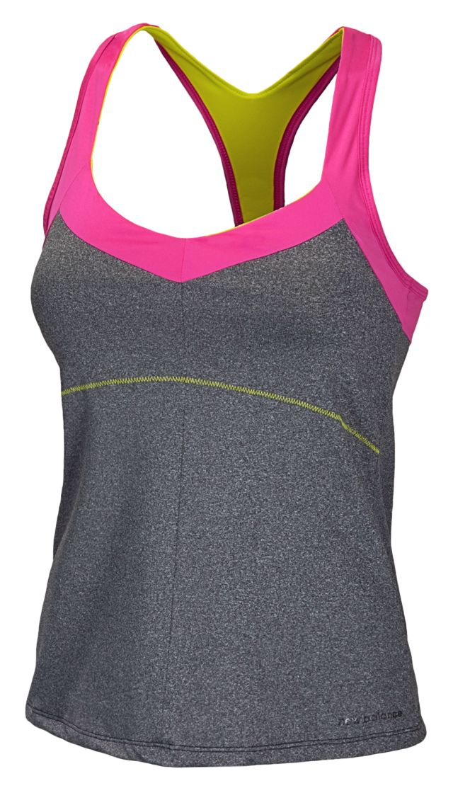 Womens Contrast Fitness Top