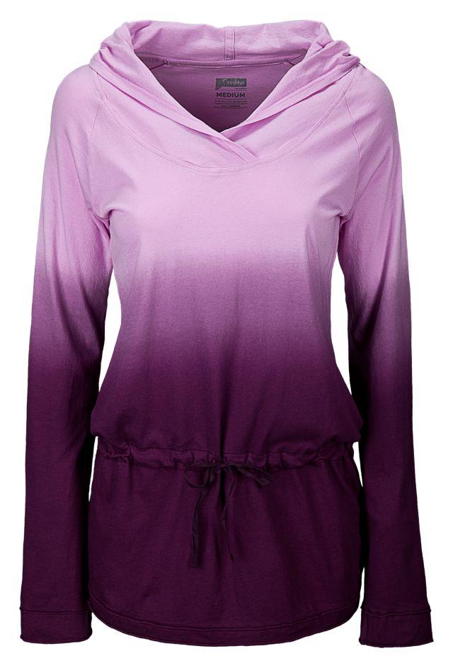 Dip Dye Tunic Pullover