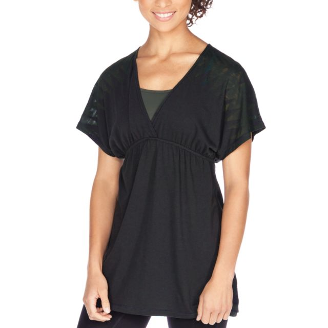 Womens Anue Crop Sleeve Tunic