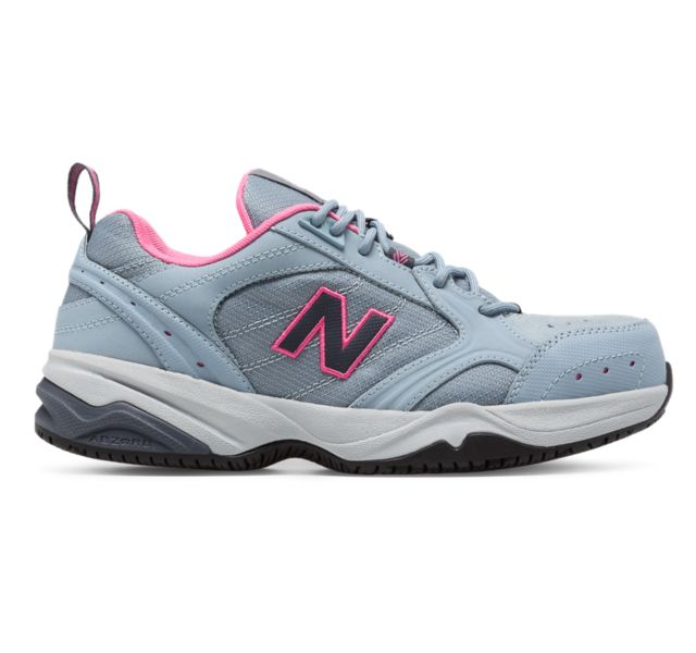 Details about NWT New Balance Industrial 627 Womens Size 5 GrayPink Steel Toe