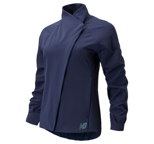 Women's Q Speed Run Crew Jacket