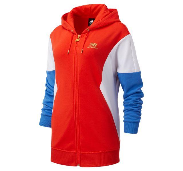 Women's NB Athletics Village FZ Hoodie