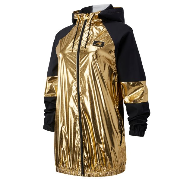 Women's NB Athletics Podium Shine Windbreaker