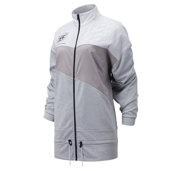 Women's United Airlines NYC Half Achiever Mix Media Jacket