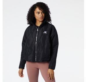 Women's NB Athletics Argyle Quilted Jacket