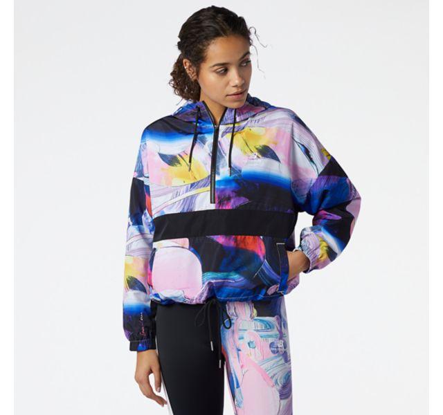 Women's NB Athletics Erin Loree Printed Anorak Jacket