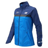 New Balance Women's NYC Marathon Windcheater Jacket (Cobalt Blue)
