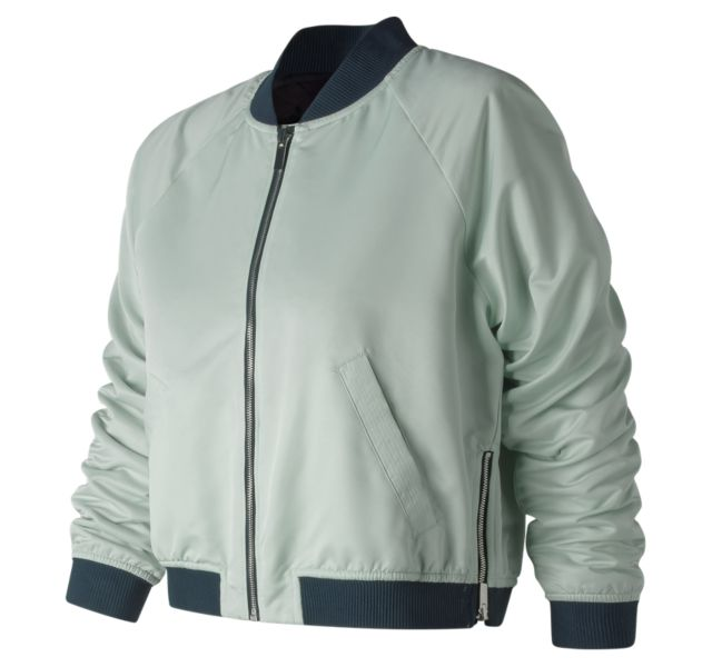 Women's NB Heat Loft Reversible Bomber