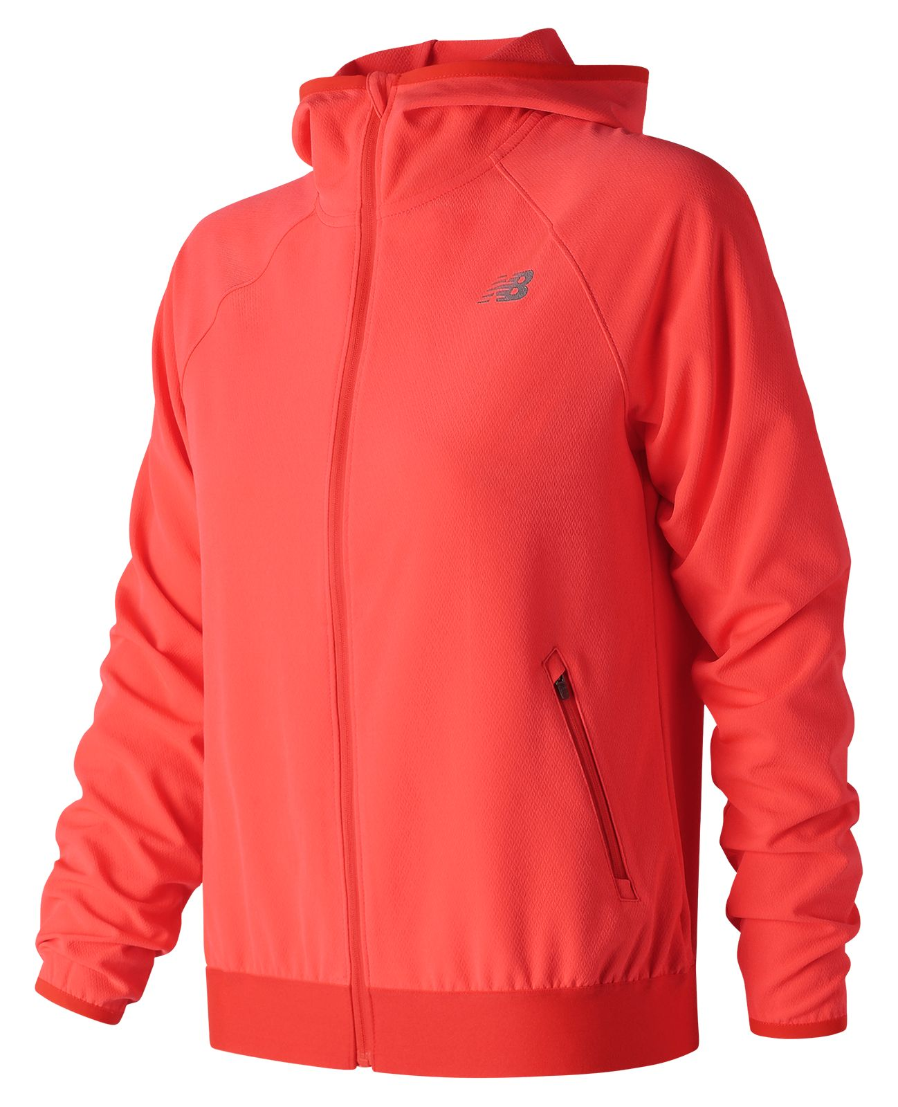 Details about New Balance Women s Accelerate Track Jacket Red aabd2e65e51b6