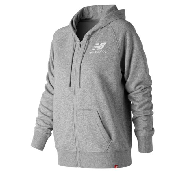 Women's Essentials Full Zip Hoodie